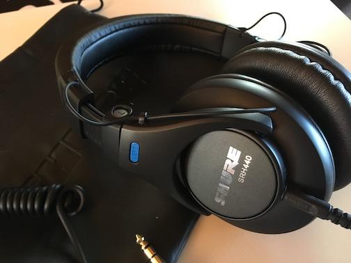 Shure SRH-440 -studiokuulokkeet